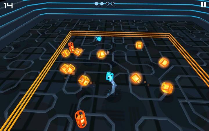 Cybergon – тест на реакцию в духе олдскульных аркад