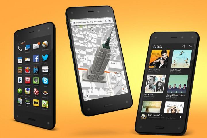 Fire Phone – наступление Amazon на рынок смартфонов