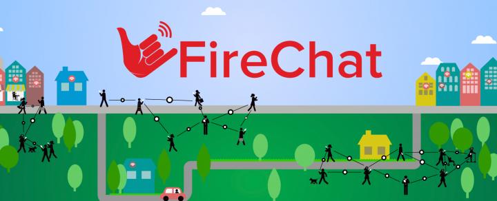 FireChat – нестандартный мессенджер и нетипичная социальная сеть в одном приложении