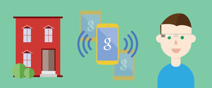 Google Nearby – сервис взаимодействия с окружающим миром