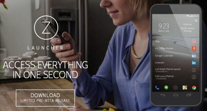 Nokia Z Launcher – лаунчер, который выбирает только самые необходимые приложения
