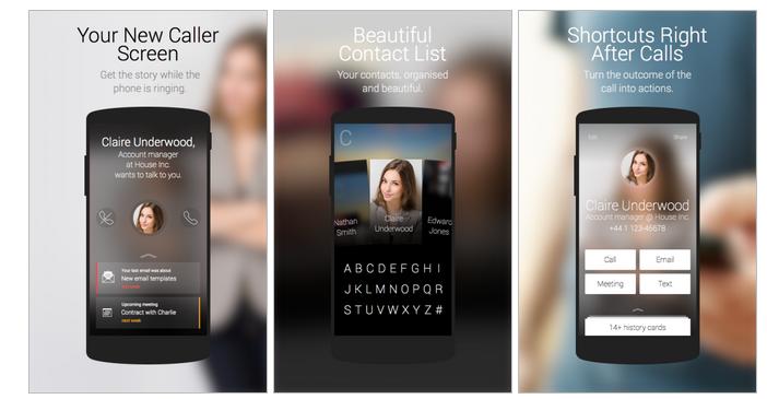 Ready – новый взгляд на список контактов и приложение для набора номера