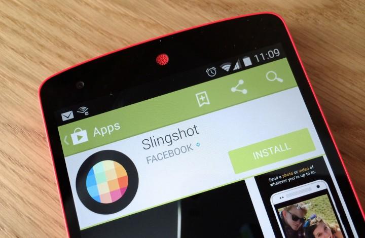 Slingshot – поделись ярким моментом с друзьями