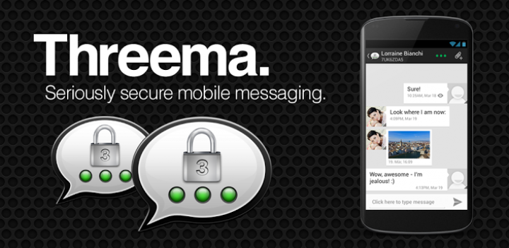 Threema – безопасное общение на Android