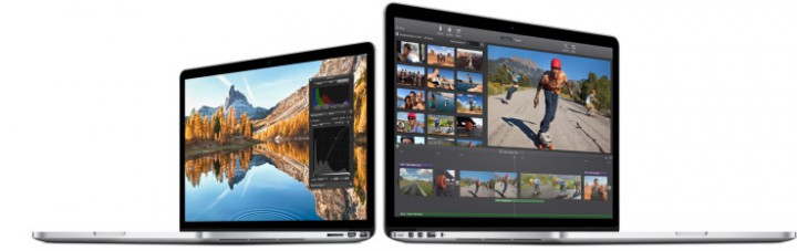 Линейка устройств Retina MacBook Pro получит более серьезное железо