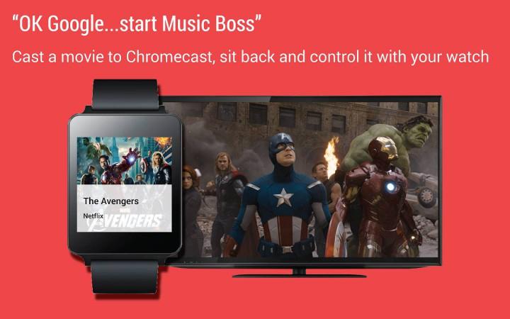 Music Boss – незаменимое приложение для Android Wear