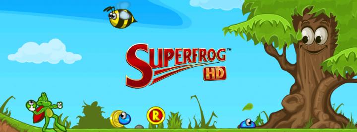 Superfrog HD – перерождение классического платформера на Android и iOS