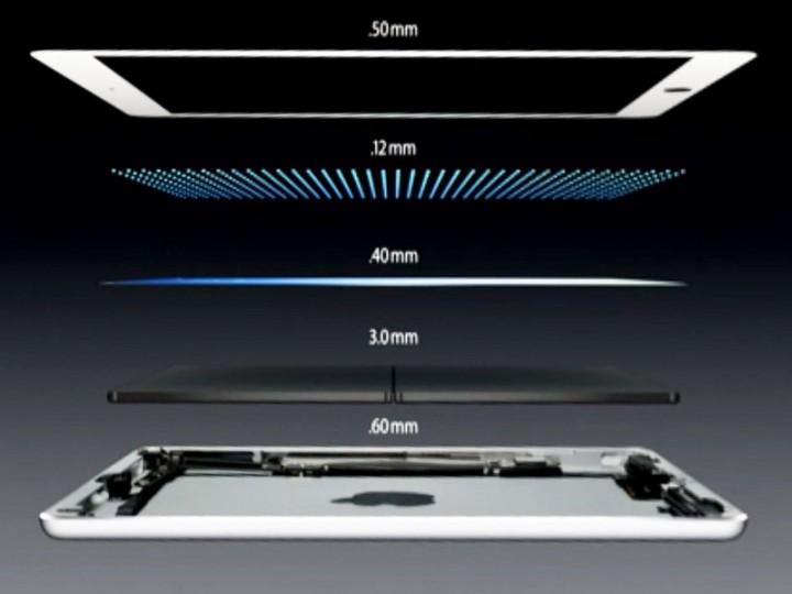 Дизайн iPad Air