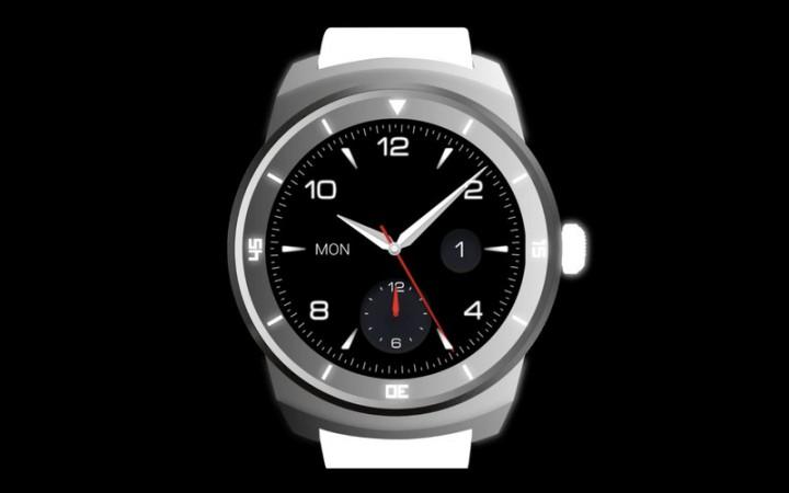 LG G Watch R – круглые смарт-часы от LG