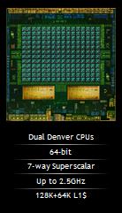 Tegra K1 Denver – первый 64-битный ARM процессор для Android