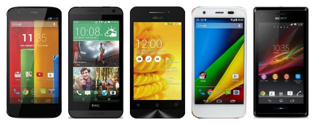 Лучшие Android смартфоны в ценовом диапазоне до 200 долларов
