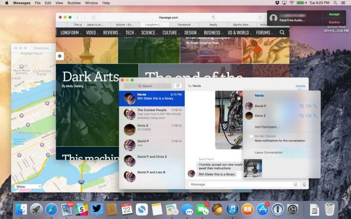 Обзор OS X 10.10 Yosemite