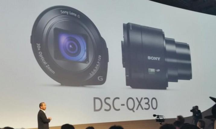 QX1 и QX30 – автономные объективы от Sony