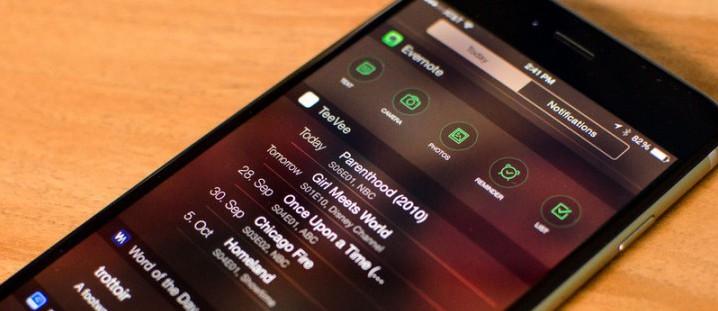 Лучшие iOS приложения с виджетами для Notification Center
