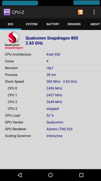 Новые слухи о железе Nexus 6