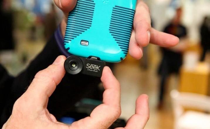 Обзор камеры Seek Thermal