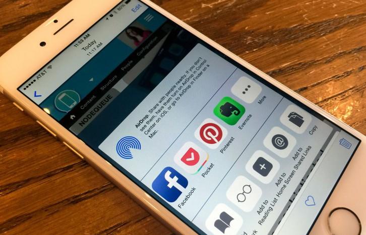 Приложения, которые позволяют беспрепятственно обмениваться контентом