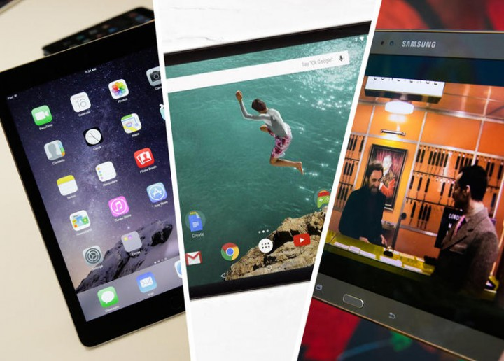 Apple iPad Air 2 vs Google Nexus 9 и Samsung Galaxy Tab S