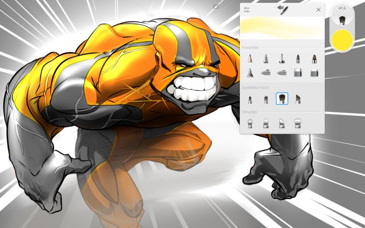 AutoDesk SketchBook – Android приложение для рисования