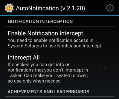 AutoNotification