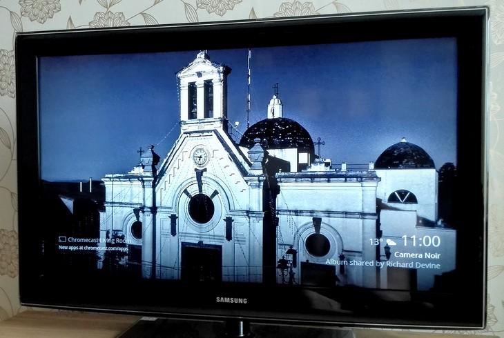 Backdrop для Chromecast