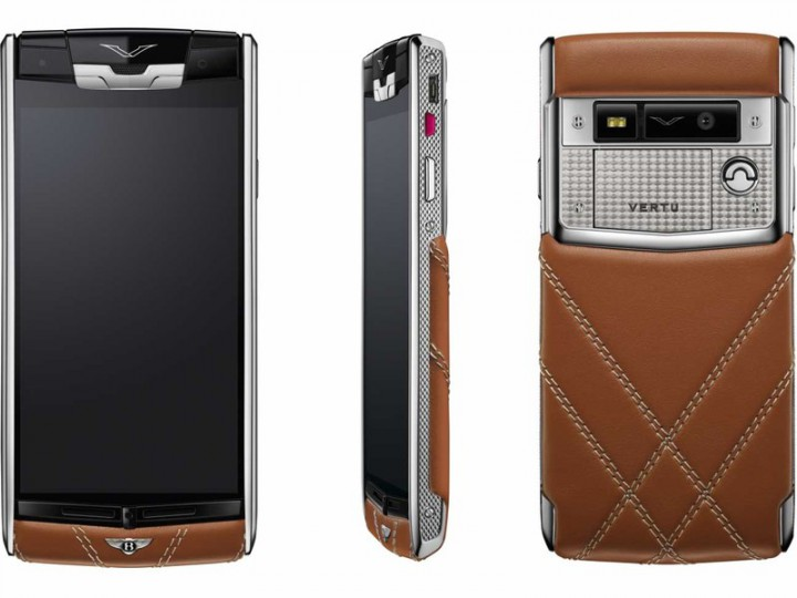 Bentley Signature Touch – результат партнерства Vertu и Bentley