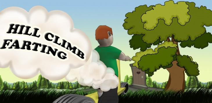 Hill Climb Farting – почувствуй запах скорости!