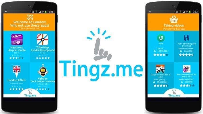 Tingz.Me – лучший инструмент для поиска новых приложений