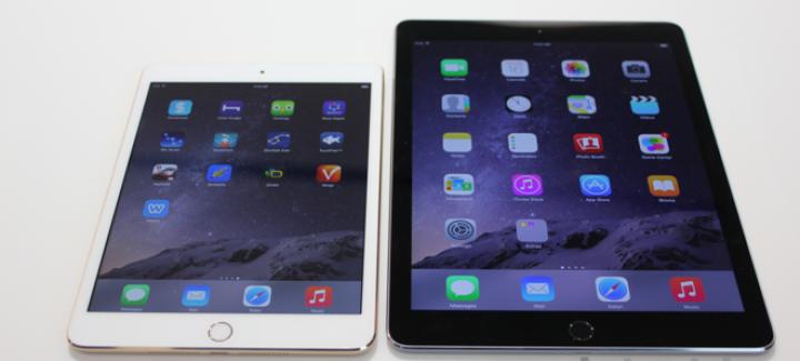 iPad Air 2 и iPad mini 3 – два новых айпэда