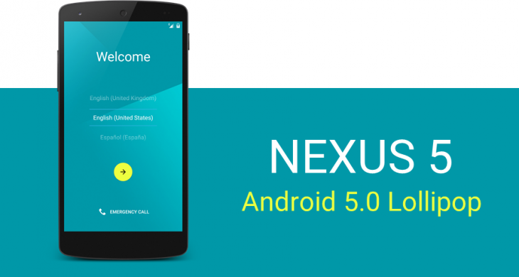 Получаем root-доступ для Nexus 5 с Android 5.0 Lollipop