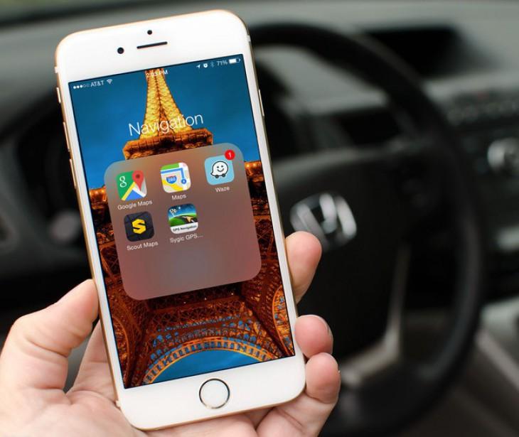 Навигация для iPhone (лучшие приложения)