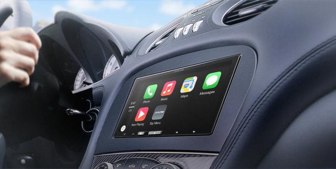 Alpine iLX-007 – приемник для приборной панели автомобиля с поддержкой CarPlay