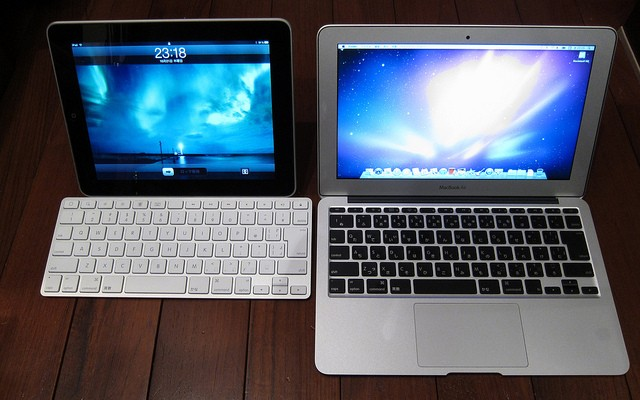 iPad Air 2 vs MacBook Air