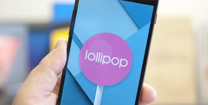 Новая версия Android Lollipop появилась в AOSP