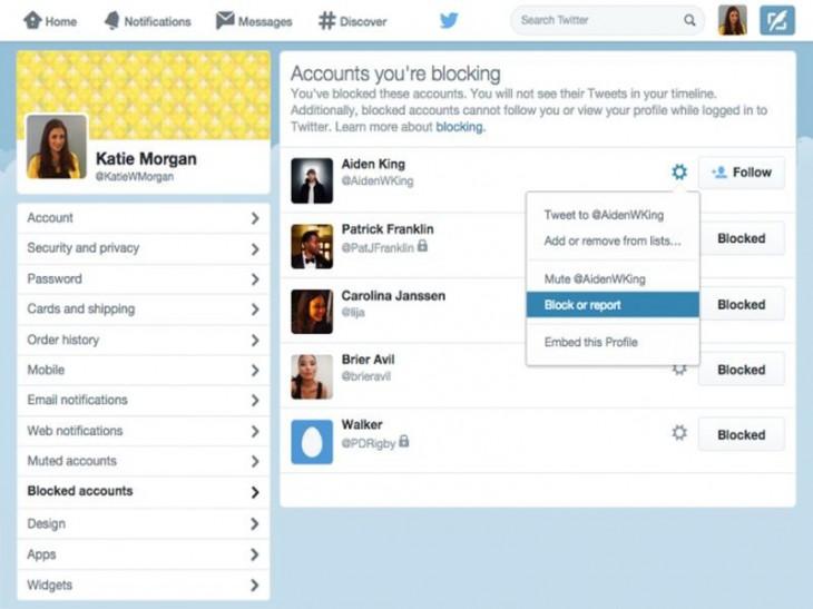 Пожаловаться на оскорбления в Twitter станет еще проще