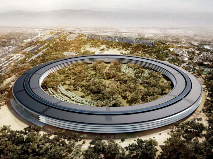 Apple собирается построить конференц-зал в кампусе Spaceship