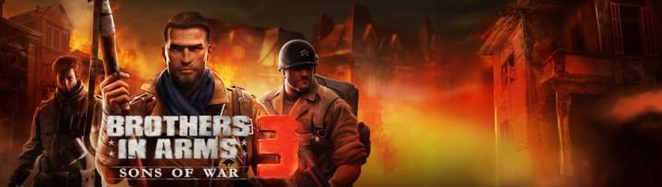 Brothers In Arms 3: Sons of War появится в Гугл Плей уже в этом месяце