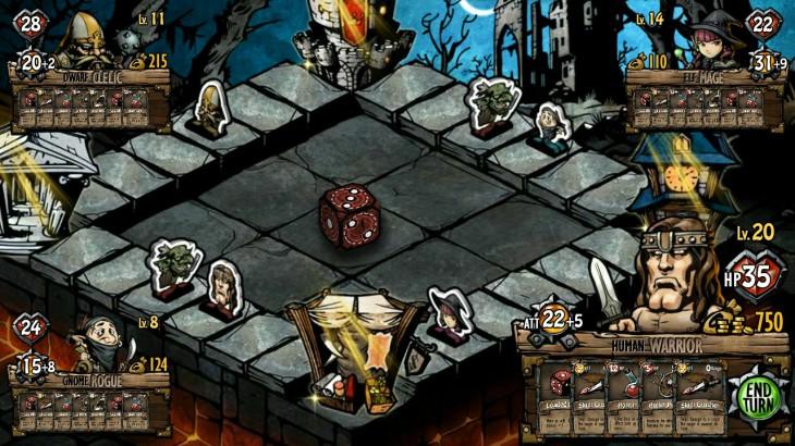 Dicetiny – смесь RPG, CCG и классической настолки для Android и iOS