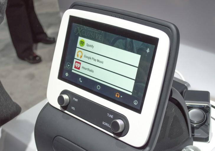 Компания Panasonic представила приборную панель с поддержкой Android Auto