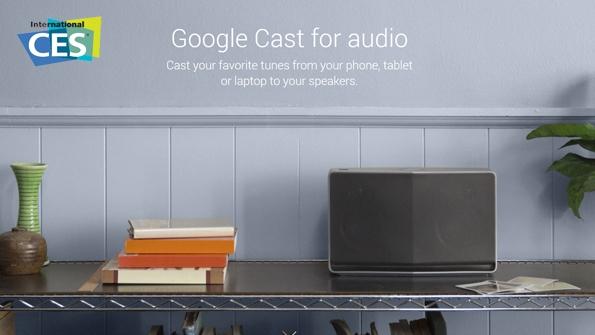 Google Cast – технология беспроводного воспроизведения музыки