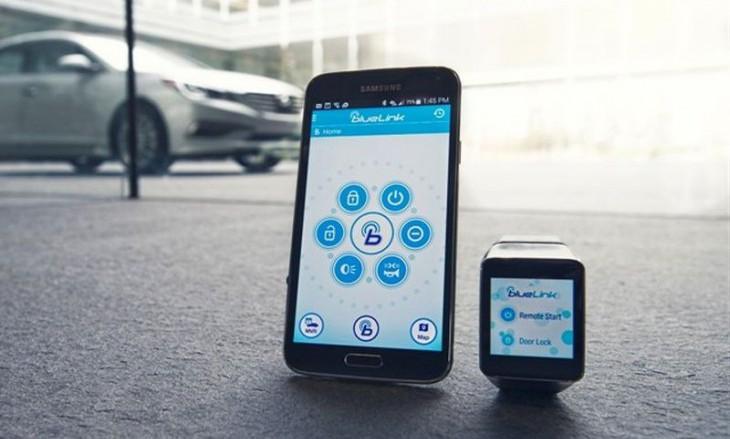 Hyundai представит приложение для удаленной работы с автомобилем