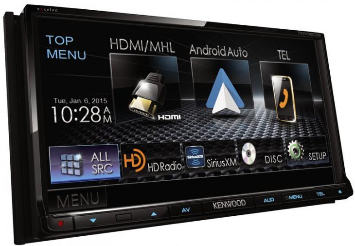 Kenwood DDX9902S – приборная панель для Android Auto