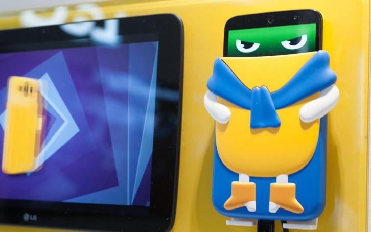 LG AKA – антропоморфные Android смартфоны