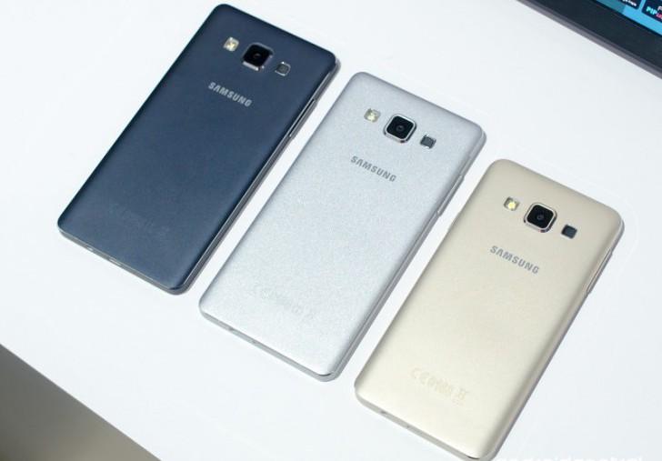 Samsung Galaxy A5 и A3 были представлены на CES 2015