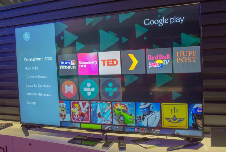 Sharp UB и UH – два линейки телевизоров на Android TV