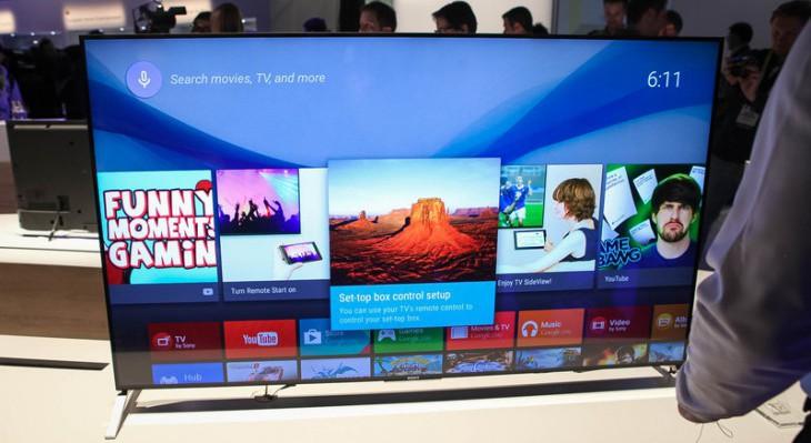 Sony Bravia – новое семейство smart TV было представлено на CES 2015