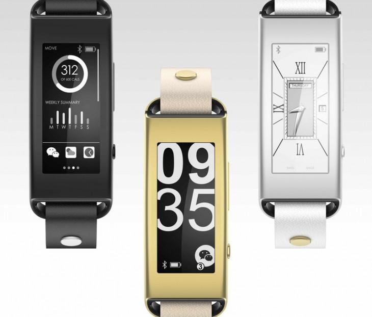 Vibe Band VB10 – смарт-часы с e-ink дисплеем