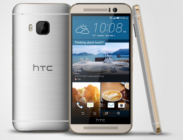 У HTC вышел новый флагманский смартфон – HTC One M9