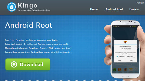 Root права на андроид kingo android root
